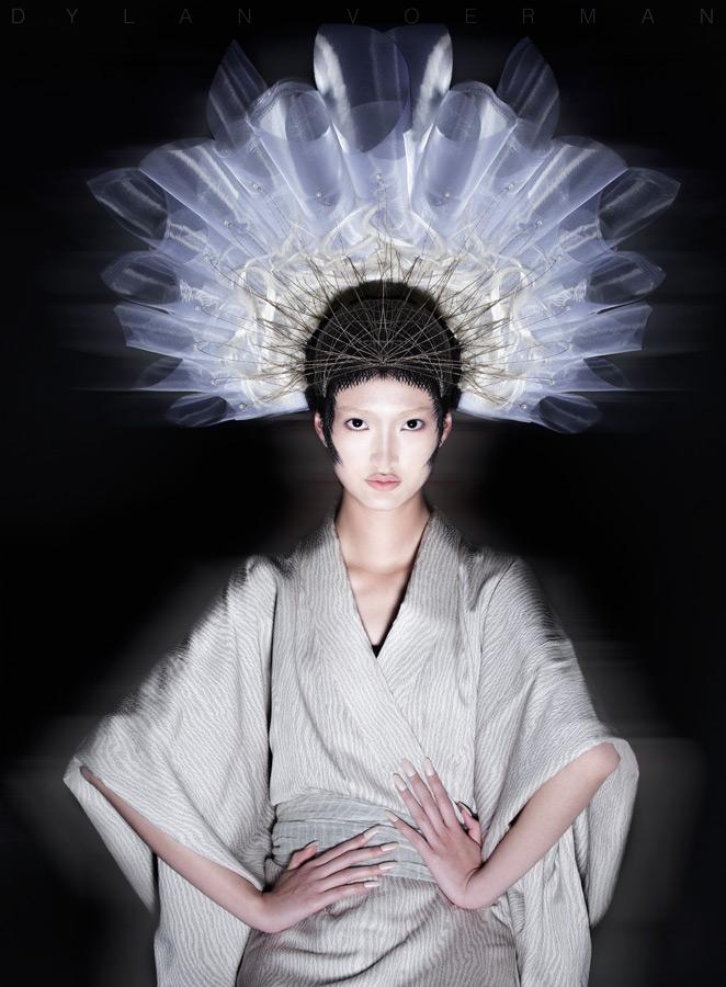 Model Ingrid Tam for AHMA - HKDI Cover Yearbook Hong Kong