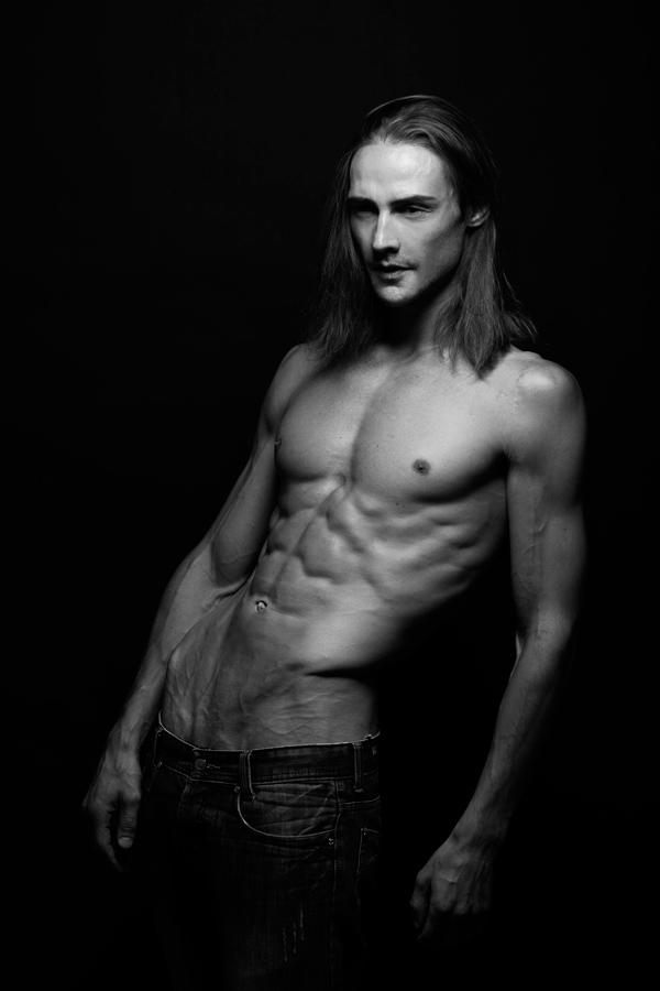 Andrej James model from Germany in Bangkok