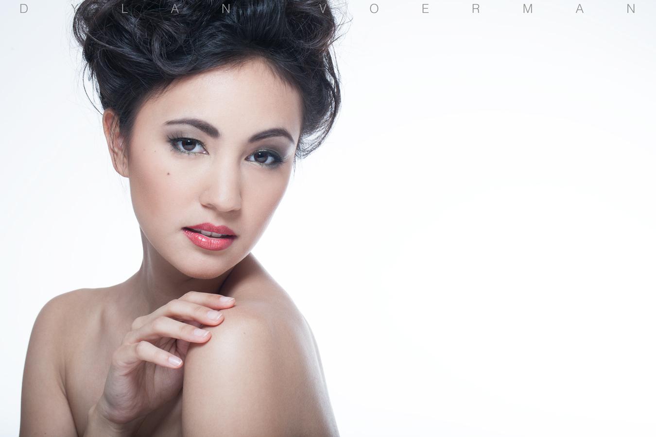 Model Jana S from Germany in Bangkok Thailand