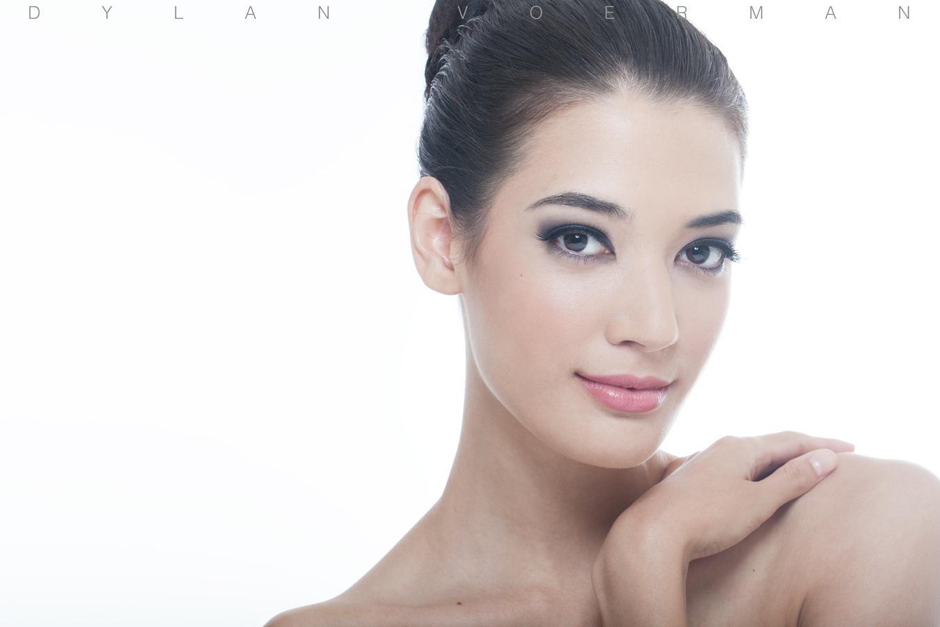 Model Cassandra Silver from New Sealand in Bangkok Thailand