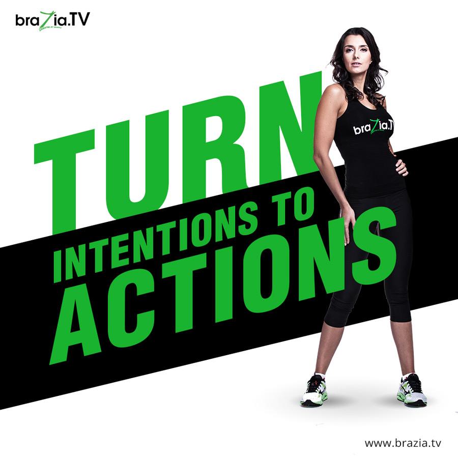 Brazia TV advertising campaign for Brasil website billboards