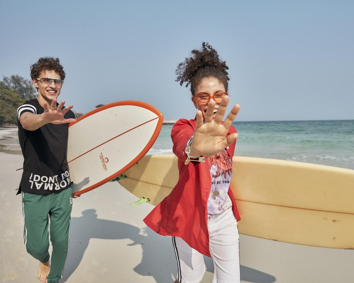 Breakout Pakistan fashion brand website billboards photo shoot Thailand Summer 2020