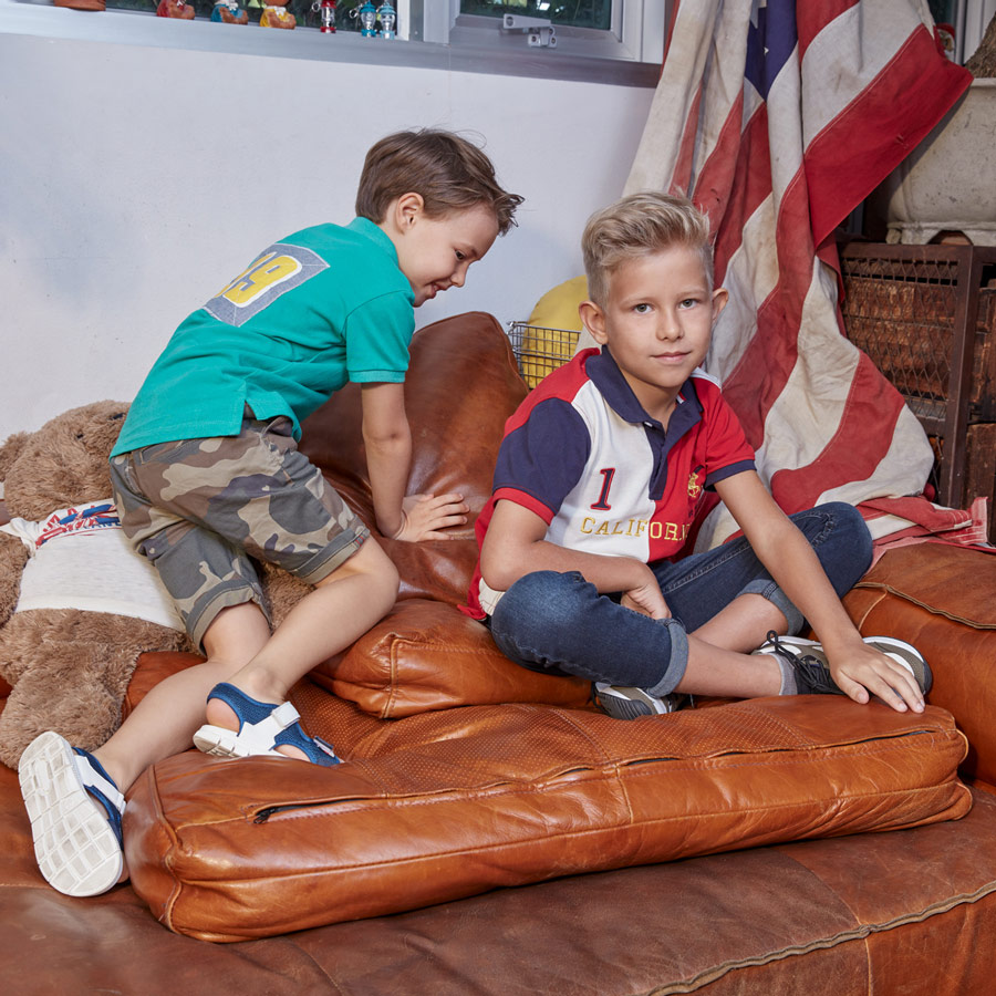 Kids Breakout Pakistan fashion brand website billboards photo shoot Bangkok Studio 2019 children clothing