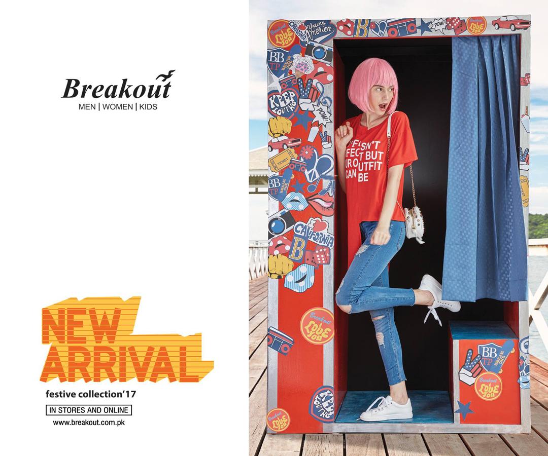 Breakout Pakistan fashion brand website billboards photo shoot Bangkok Thailand 2017