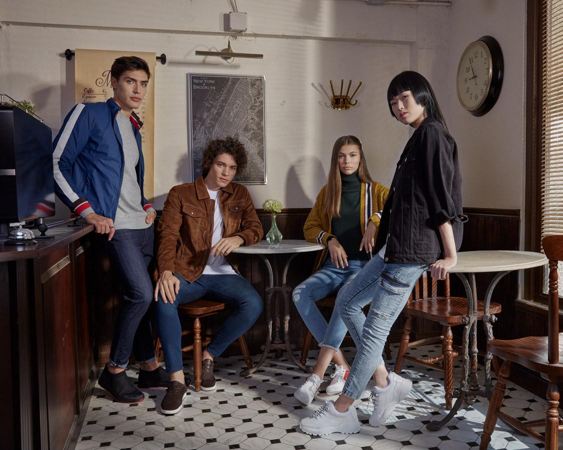Breakout Pakistan fashion brand website billboards photo shoot Thailand Winter 2019