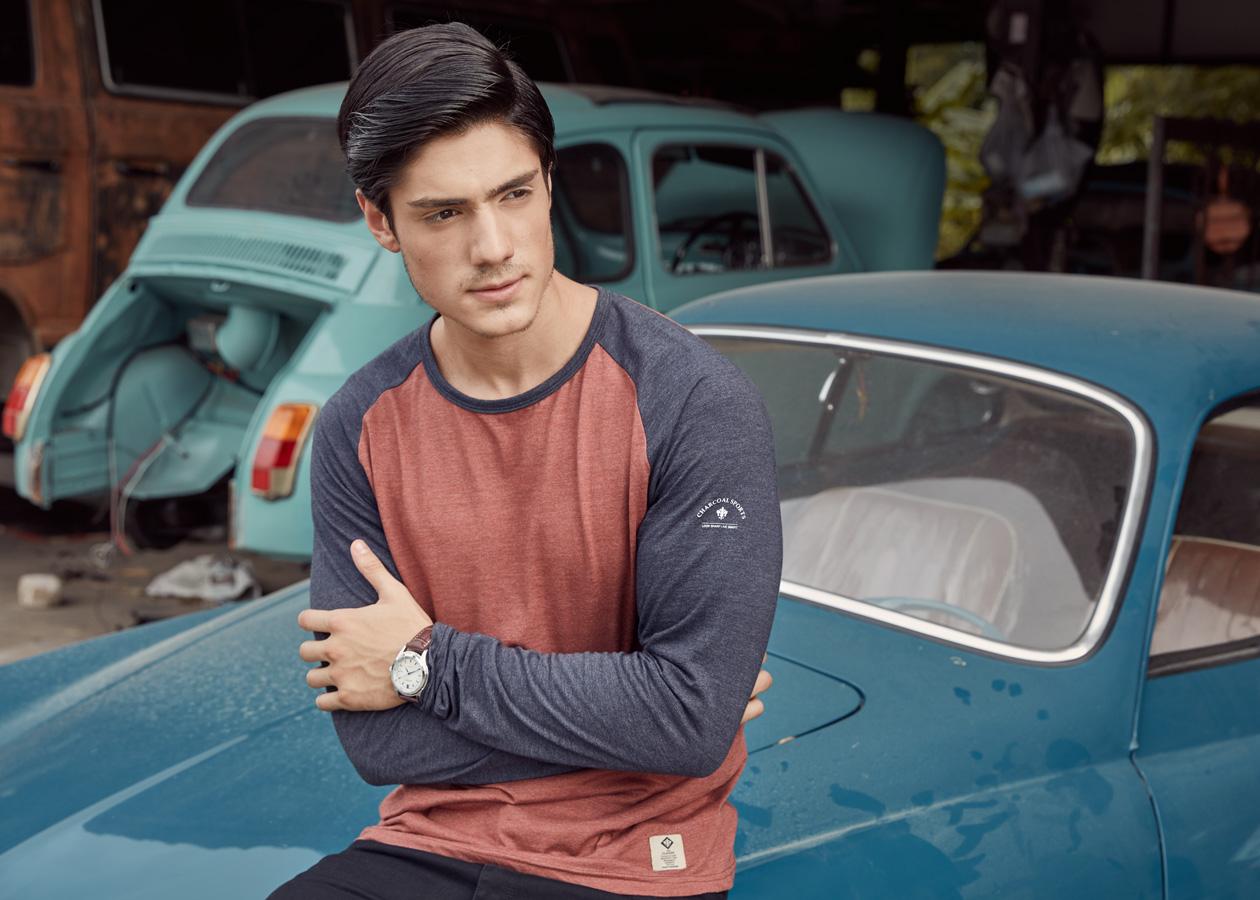 Charcoal Pakistan Pre AW 2017 catalog Fashion Catalog Bangkok Thailand