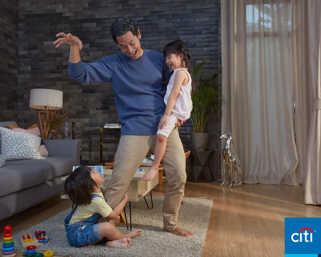 Citi Bank Singapore Hong Kong Mayasia Indonesia advertising campaign for website billboards