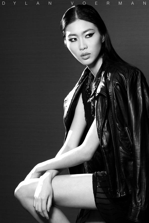 Hong Kong Model Lydia Wei in Bangkok Thailand