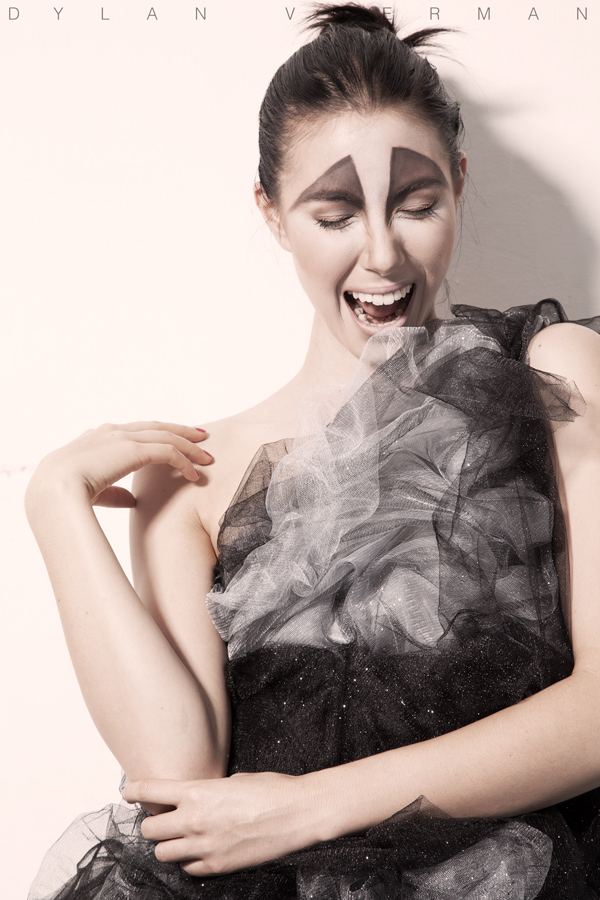 Model Lauren Yates for Shadia Nicole in Bangkok Thailand