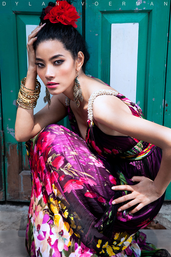 Model MaMe Nakprasitte in Bangkok Thailand