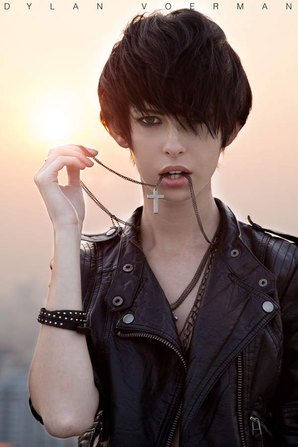 Model Iryna Rei in Bangkok Thailand