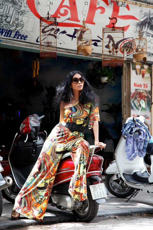 Thai Model Chanok Sayoungkul in Hanoi Vietnam