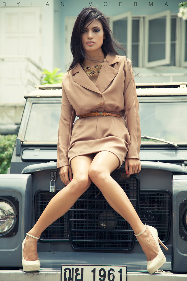 Model Isabeli Vergara in Bangkok Thailand