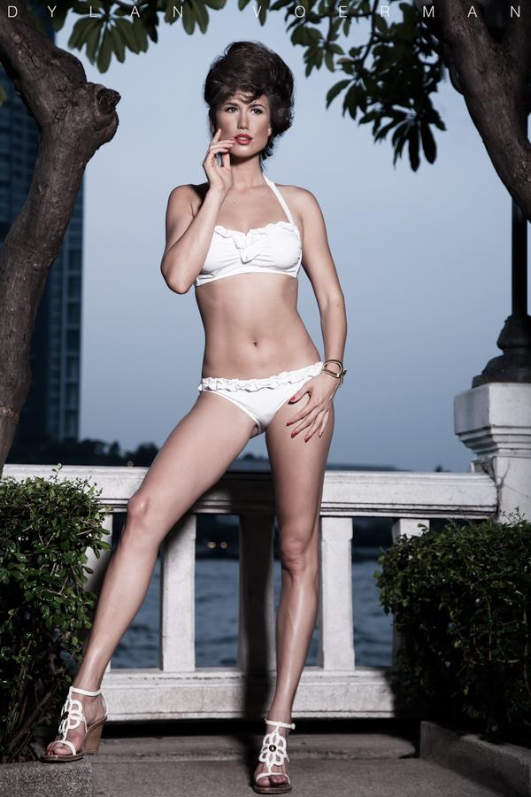 Model Doris Kemptner in Bangkok Thailand