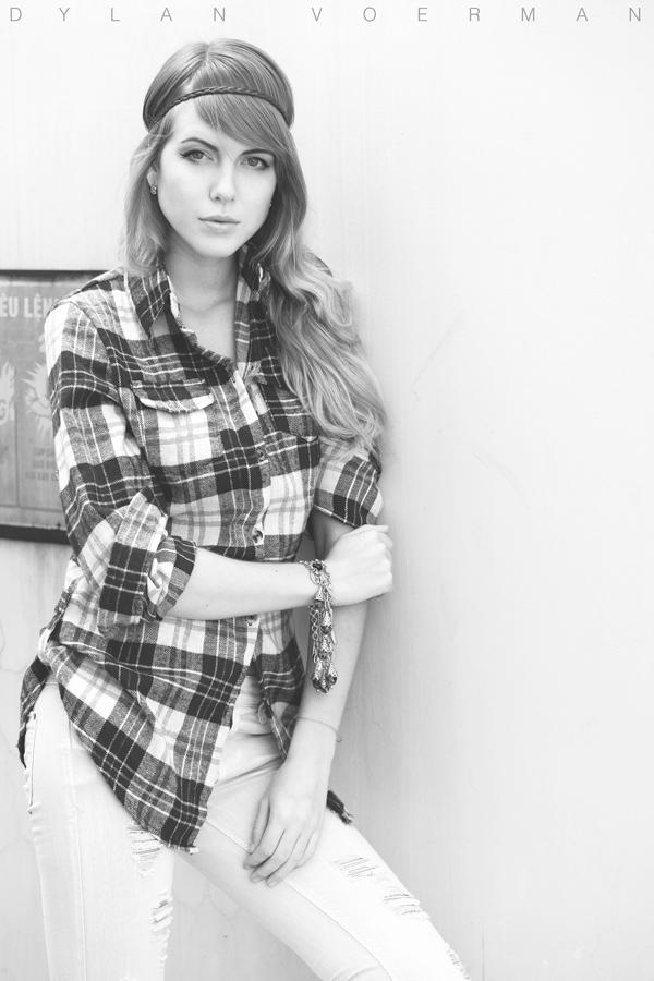 Model Alesja Gaichuk in Saigon Ho Chi Minh City Vietnam
