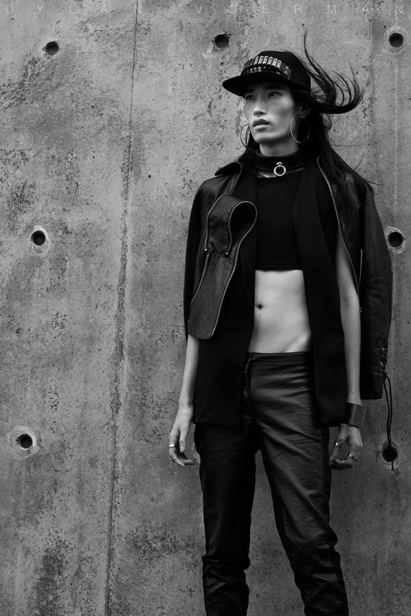 Model Horus Chung for Erevos Aether Hong Kong HKDI Hong Kong