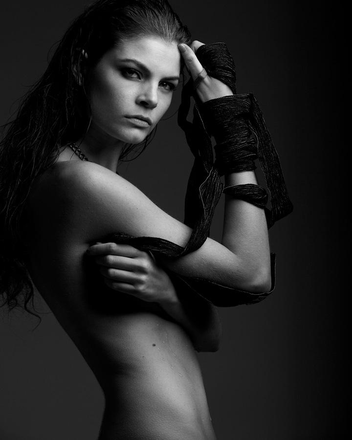 portrait French model