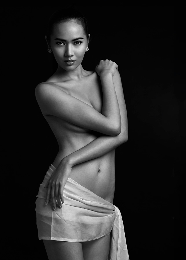 portrait Thanker Boonrothnan Bangkok Thailand Thai model